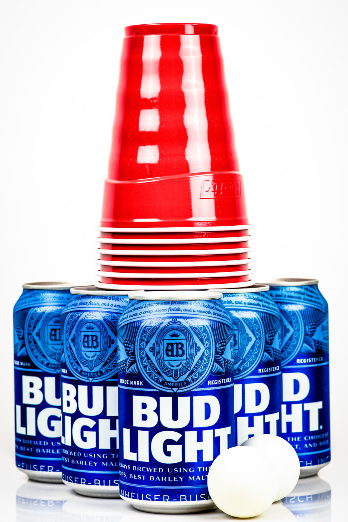 Bud Light Product Photography captured by TOMO Pictures in Charleston, SC