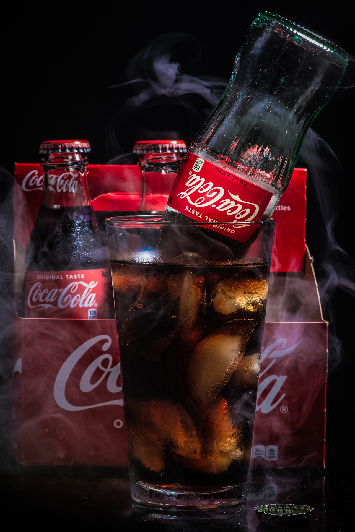 Coca-Cola Product Photography captured by TOMO Pictures in Charleston, SC
