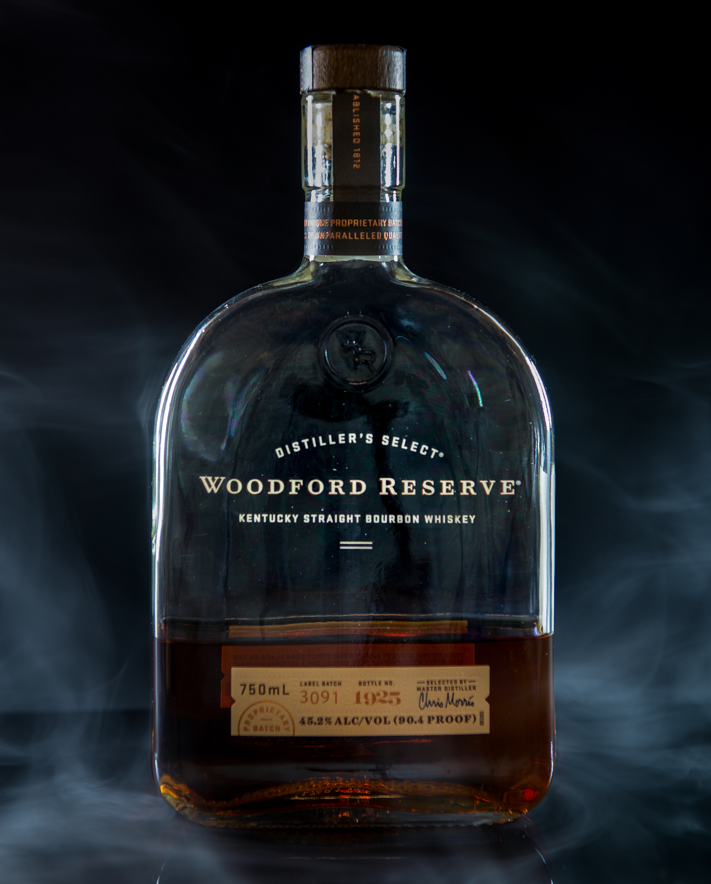Woodford Reserve Product Photography captured by TOMO Pictures in Charleston, SC